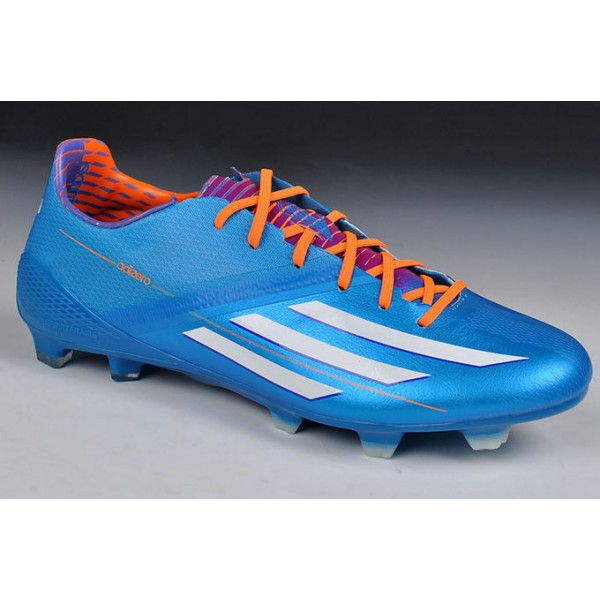 Crampons Adidas Bleu Et Orange