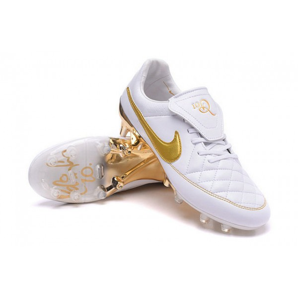 2016 mens soccer boots nike tiempo legend v fg r10 white golden .
