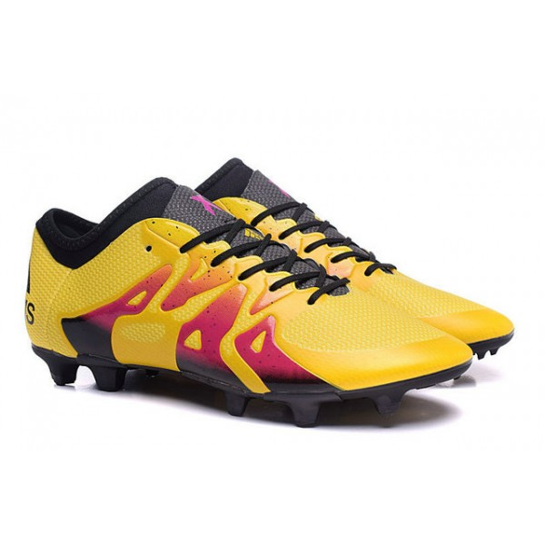 ... best 2016 adidas x 15.1 fg/ag mens soccer cleats menace pack yellow red  black