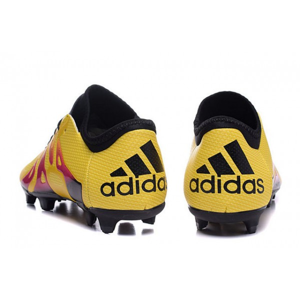 ... boots 1 best 2016 adidas x 15.1 fg ag mens soccer cleats menace pack  yellow red ...