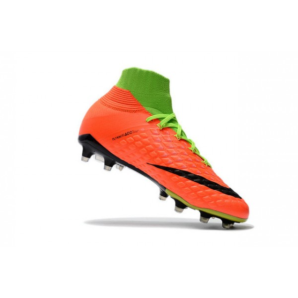 e6b20d79788e Sports Kicks Nike Hypervenom Phantom III Fg Electric Green