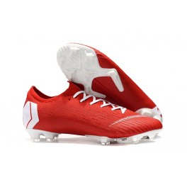 2019 Nike Mercurial Vapor XII 360 Elite FG Soccer Cleats Neymar Red White
