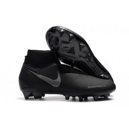 Men's Soccer Shoes - Nike Phantom Vision Elite DF FG All Black