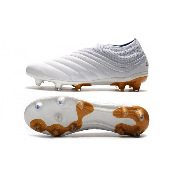 Adidas Copa 19 Fg New Soccer Cleats White Gold