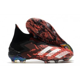 New adidas Predator Mutator 20+ FG Core Black White Active Red