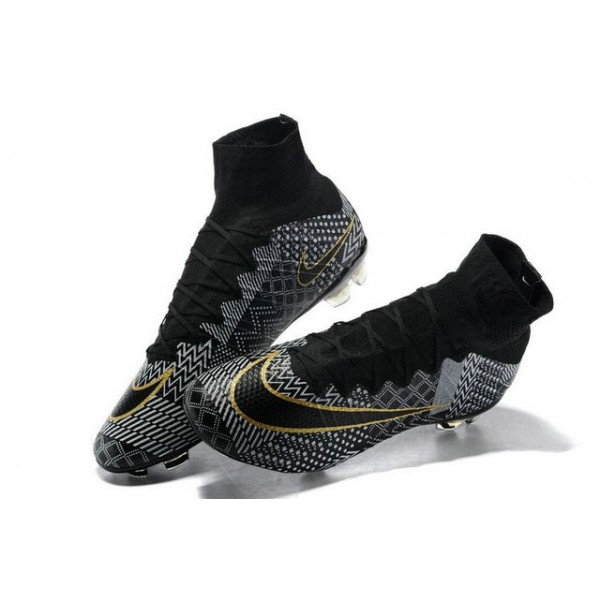 Nike New Mercurial Superfly FG Mens FirmGround Soccer Boots BHM Black  History Month