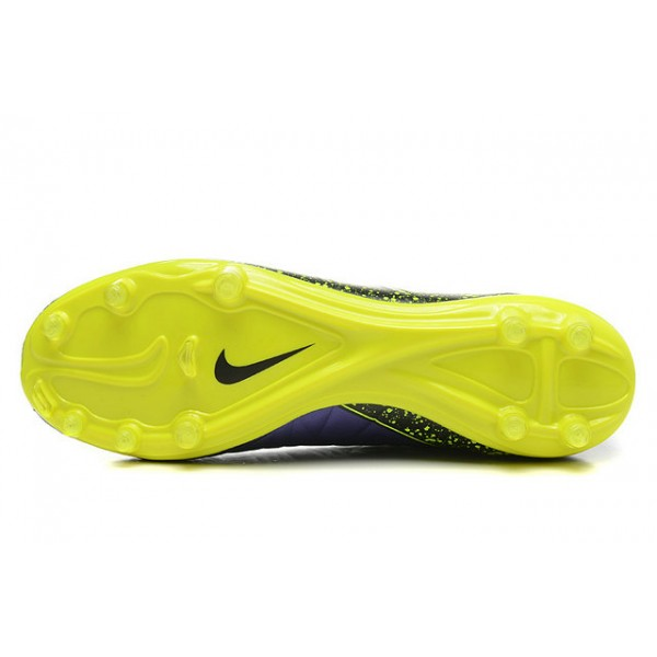 2b7ad2a429bb Mens Nike HyperVenom Phantom 2 FG Soccer Shoes ACC Violet Yellow Black