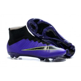 f18d30161b19 Nike New Mercurial Superfly FG Men s Firm-Ground Soccer Boots Violet Black