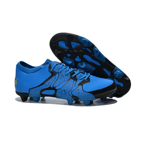 mens football boots new adidas x 15 1 fg ag blue black. Black Bedroom Furniture Sets. Home Design Ideas