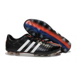 2015 New Football Shoes Adidas 11Pro TRX FG Black Red White