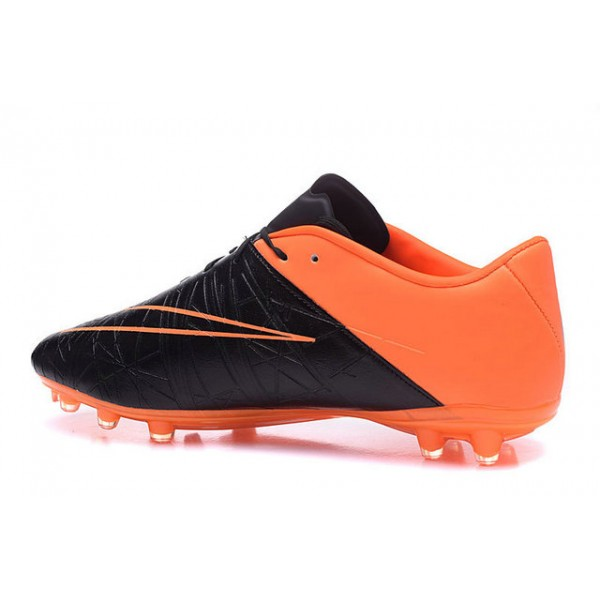 official photos fd875 37a52 Nike Hypervenom Phinish II FG ACC Soccer Boots Leather Orange Black