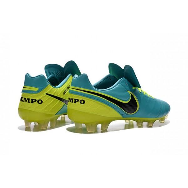 c26d3978b New Shoes for Men Nike Tiempo Legend VI FG Cleats Blue Volt Black