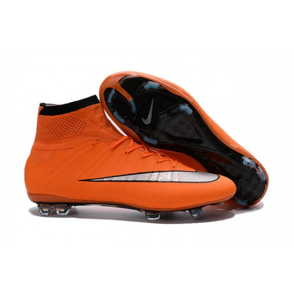 2815c8ac4932 official nike mercurial superfly fg soccer cleats cheap shoes orange blanck  silvery 4f9a0 31b48