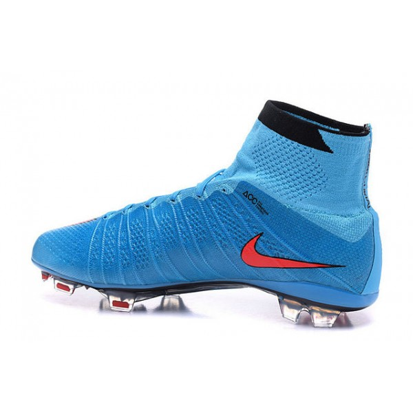 79d36dd0e5f3 ... discount code for nike new mercurial superfly fg mens firm ground  soccer boots blue red black