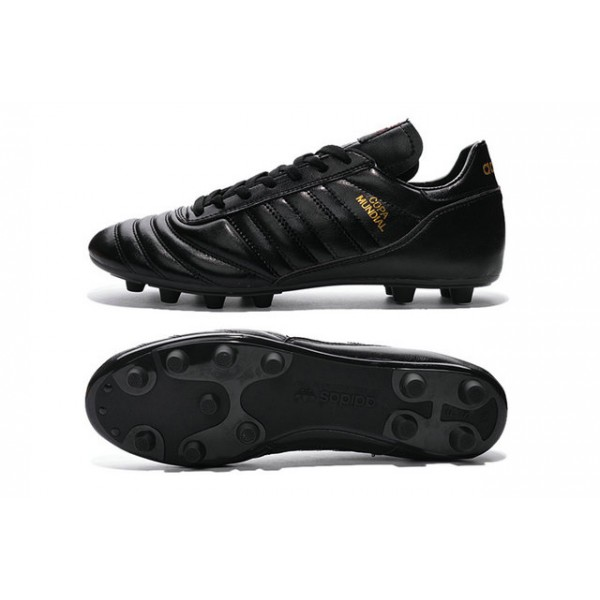 f22e92c0303d Adidas Mens Copa Mundial Firm Ground Football Boots Black Metallic Gold