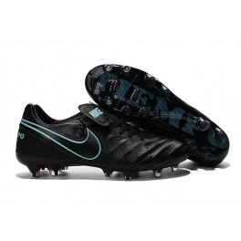 New Shoes for Men Nike Tiempo Legend VI FG Cleats Black Blue