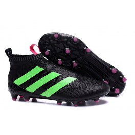 Adidas ACE 16+ Purecontrol FG/AG - New Football Cleats - Green Black