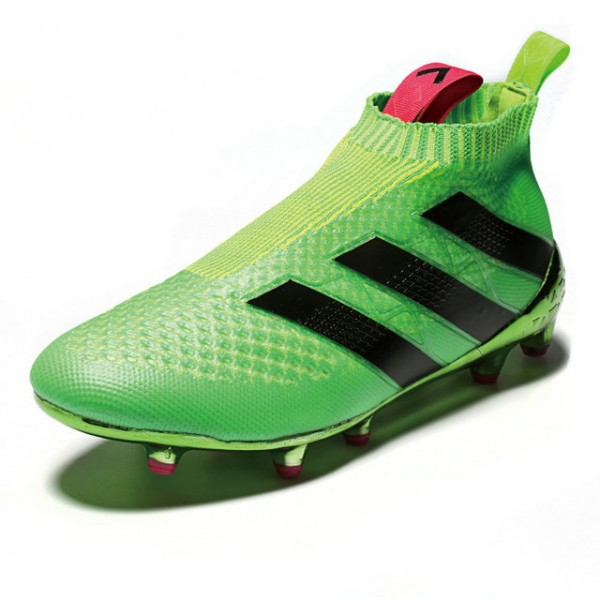 promo code 4fac5 5c2fb Adidas ACE 16+ Purecontrol FG AG - New Football Cleats - Solar Green Black  Shock Pink
