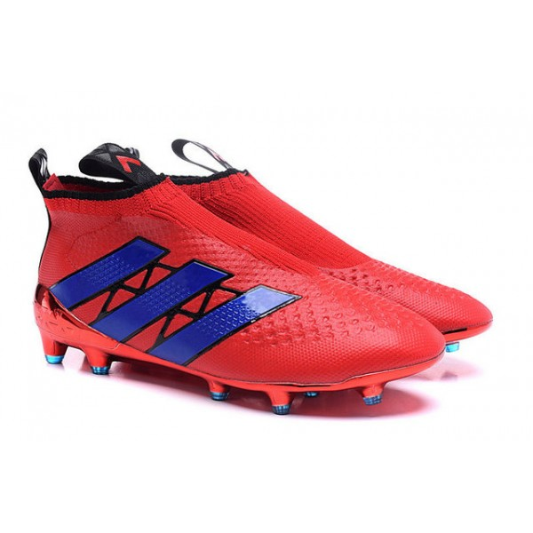 another chance 28ebc 83f2b Adidas ACE 16+ Purecontrol FGAG - New Football Cleats - Red