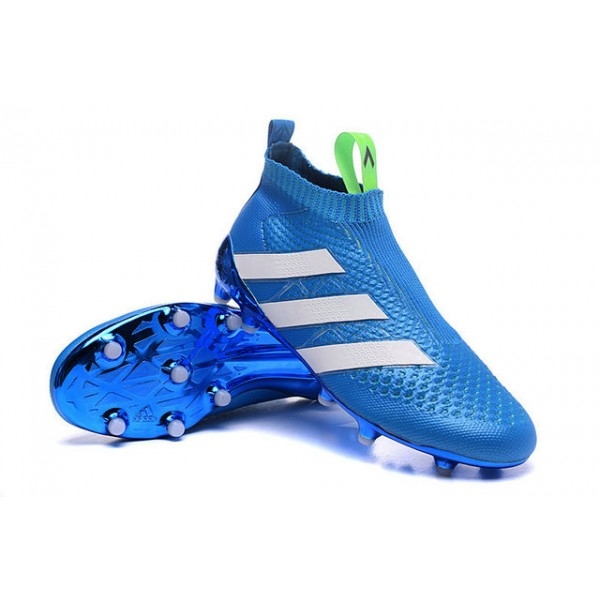 best sneakers d7b3f c677b ... discount adidas ace 16 purecontrol fg ag new football cleats blue white  447af e18fe