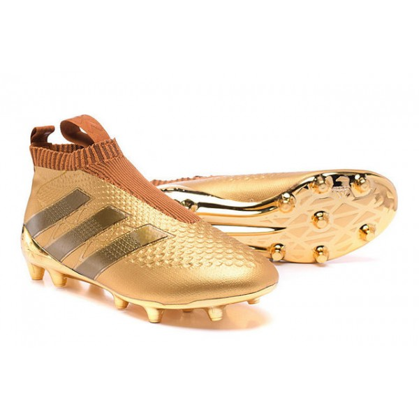 half off 91f3e d3c48 Adidas ACE 16+ Purecontrol FG AG - New Football Cleats - Gold