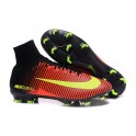 2016 Football Shoes - Nike Mercurial Superfly V FG Total CrimsonVolt Pink Blast