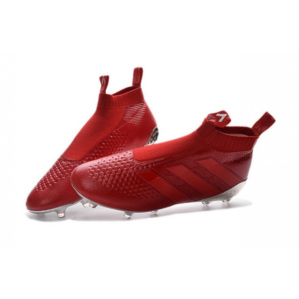 ... reduced adidas ace 16 purecontrol fg ag new football cleats silvery red  028e9 3cef5 296a95910d35d