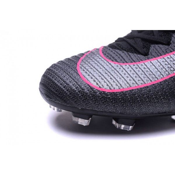 58bcd45cac7e ... official store 2016 football shoes nike mercurial superfly v fg pitch  dark pack black pink blast