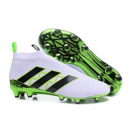 Adidas ACE 16+ Purecontrol FG/AG - New Football Cleats - Green White Black