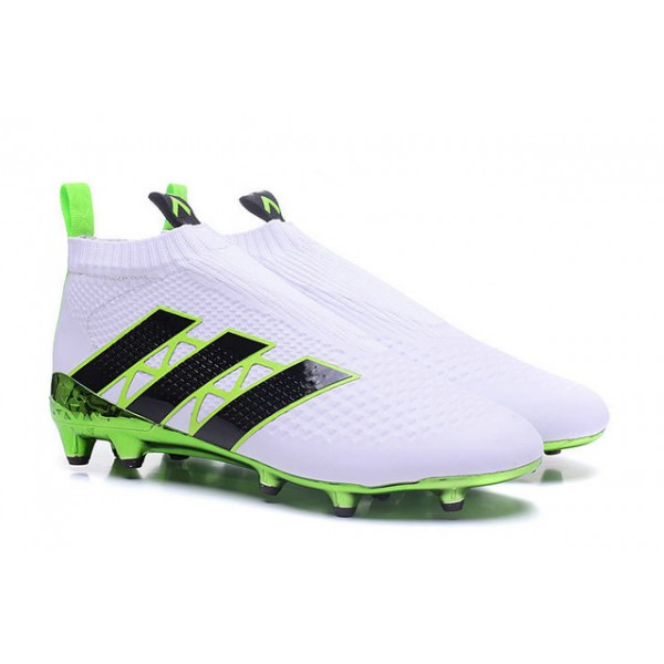 info for e2827 416ab Adidas ACE 16+ Purecontrol FGAG - New Football Cleats - Green White Black