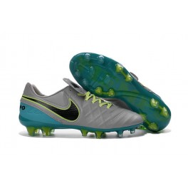 Nike Cleats Cheap Boots Nike Tiempo Legend 6 FG Wolf Grey Black Clear Jade