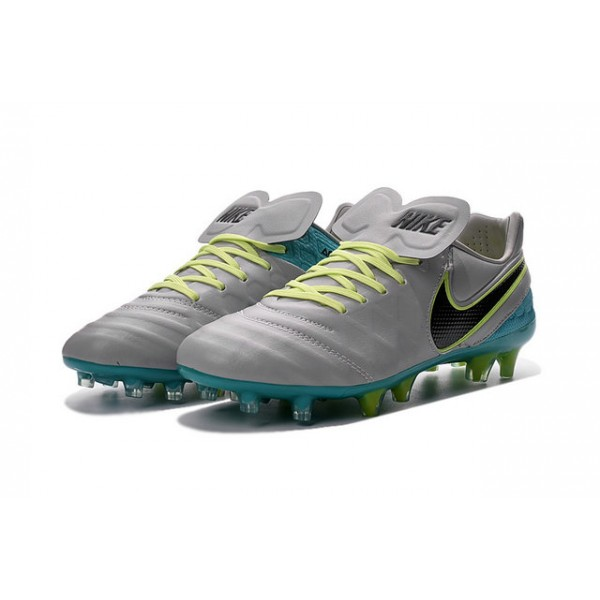 premium selection e510f 6859f Nike Cleats Cheap Boots Nike Tiempo Legend 6 FG Wolf Grey ...