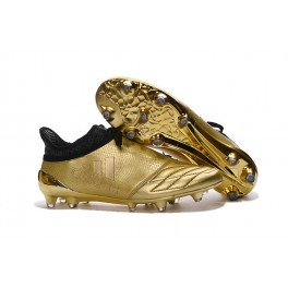 NEW! Adidas X 16+ Purechaos FG/AG - Soccer Cleats Leather Gold Black