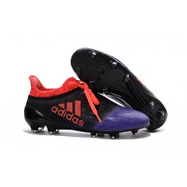 NEW! Adidas X 16+ Purechaos FG/AG - Soccer Cleats Black Violet Orange