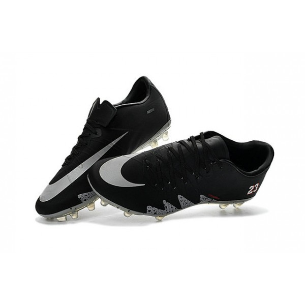 Football Cleats for Men Nike hypervenom phinish FG Neymar x Jordan Black  Light Crimson White Metallic Silver b6e1d9bdc253