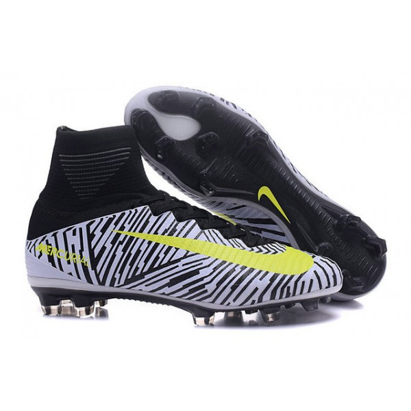 the latest d71a5 7cf7e Nike Mercurial Superfly V FG yellow black soccer shoes