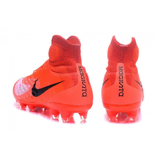 76966b377981 Men s Nike Magista Obra II FG Soccer Shoes - New Orange Black