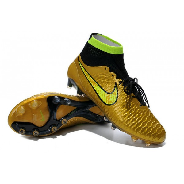 2015 cheap nike magista obra fg soccer cleats golden yellow volt black. Black Bedroom Furniture Sets. Home Design Ideas