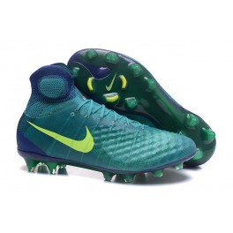 Men's Nike Magista Obra 2 FG Soccer Shoes ACC Rio Teal Volt Obsidian Clear Jade