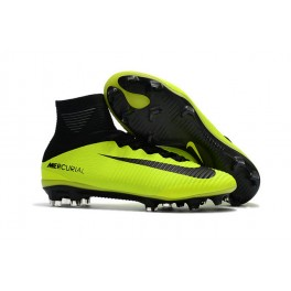 Football Shoes For Men - Nike Mercurial Superfly V FG Volt Black
