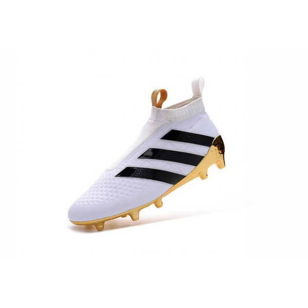official photos 45b23 d244d inexpensive soccer cleats for men adidas ace 16 purecontrol fg ag white  gold black ecd3f 2eff3
