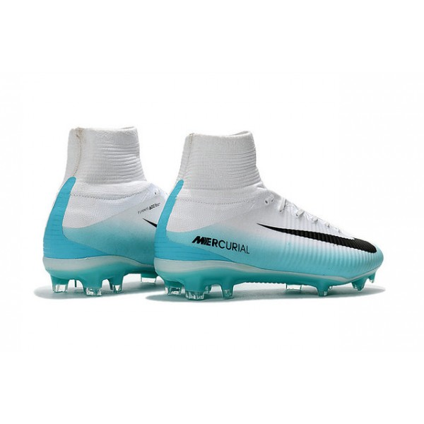 eb75cef6e644 ... low cost new nike mercurial superfly 5 fg nike shoes for men white blue  black 6cad9