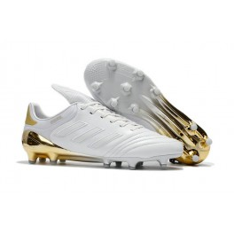 New Adidas Copa 17.1 FG Soccer Shoes White Gold