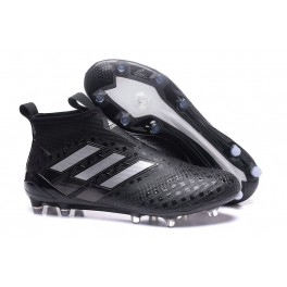 Soccer Cleats Adidas ACE 17+ Purecontrol Firm Ground Core Black / White / Core Black