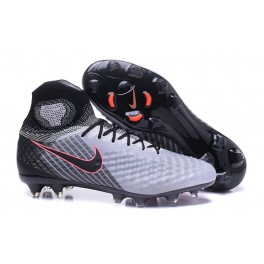 Cheap Nike Magista Obra II FG 2017 Soccer Cleats For Men - Grey Black