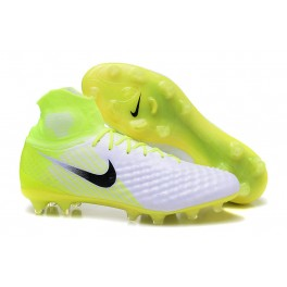 New Nike Magista Obra 2 FG For Sale White Volt Pure Platinum d664ae7235a9