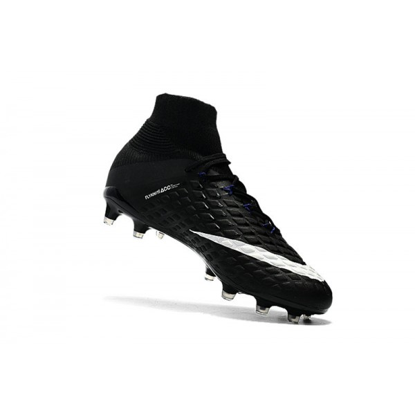 22299935663 New Nike Hypervenom Phantom III DF FG For Sale Black White