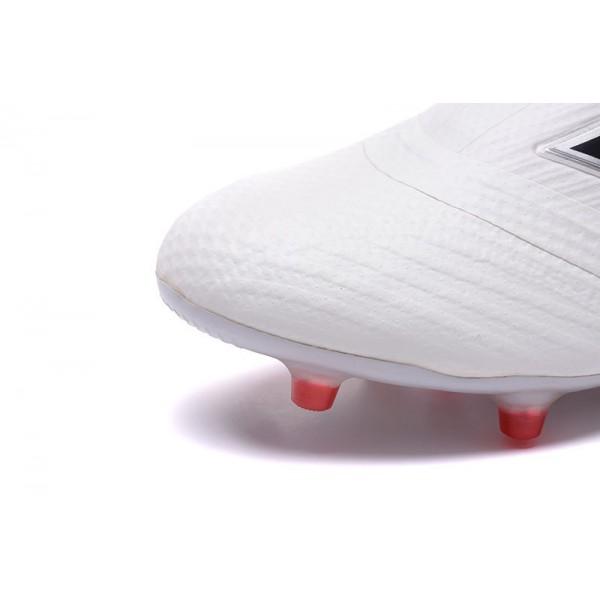 cheaper e1380 e0e54 Adidas ACE 17+ Purecontrol FG Soccer Cleats On Sale - White Core Black Red