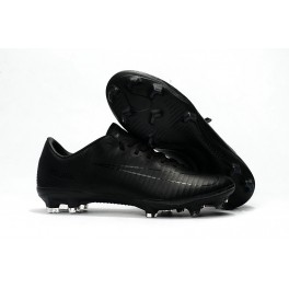 Cheap Nike Mercurial Soccer Cleats - Vapor 11 FG For Men All Black