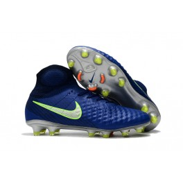 Nike Magista Obra II FG 2017 Soccer Cleats Dark Blue Green